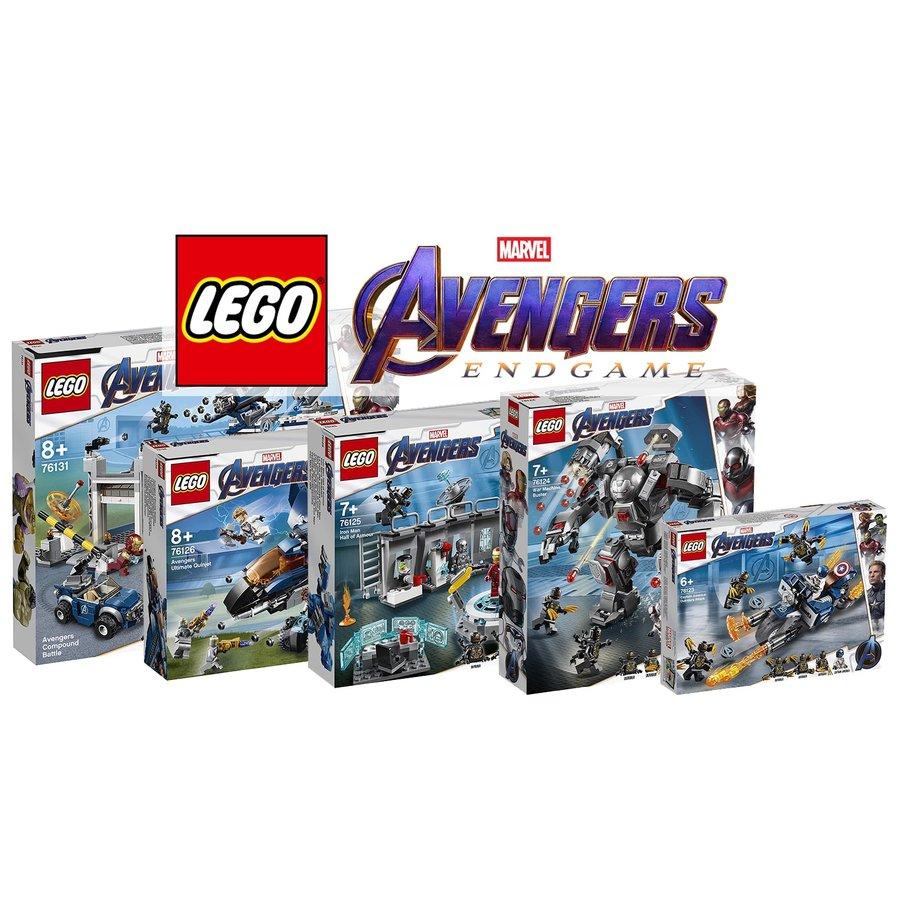 LEGO® Marvel Avengers Avengers Endgame Advantage Bundle 5 sets