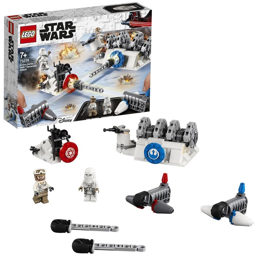 LEGO® STAR WARS™ Action Battle Attack on the Hoth Generator 75239