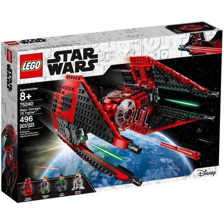 LEGO® STAR WARS™  Major Vonreg`s TIE Fighter 75240