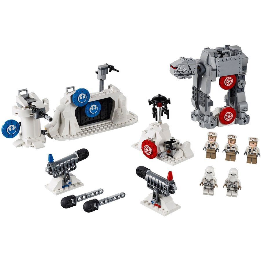 LEGO® STAR WARS™ Action Battle Echo Base Defence 75241