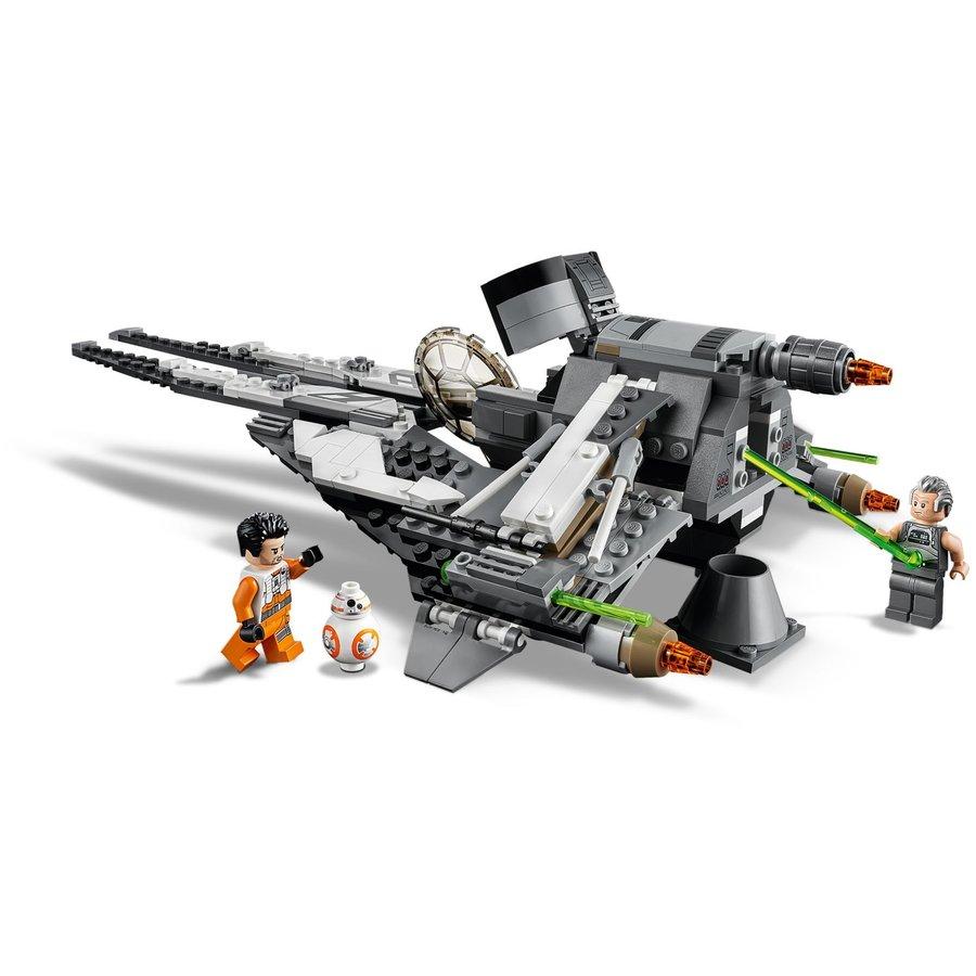 LEGO® STAR WARS™ Black Ace TIE Interceptor 75242