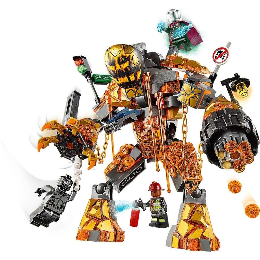 LEGO® Marvel Super Heroes Spiderman Molten Man Duel 76128