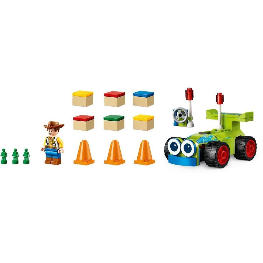 LEGO® Disney Pixar Toy Story 4 Woody & RC 10766