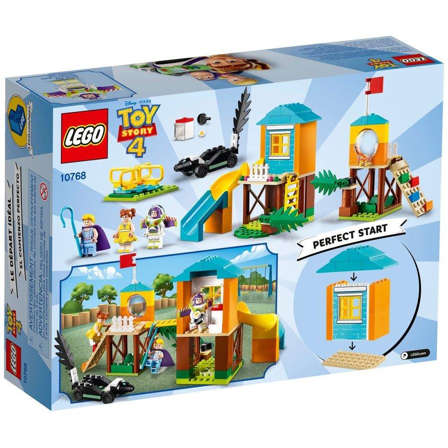 LEGO® Disney Toy Story 4 Buzz and Bo Peep's Playground Adventure 10768