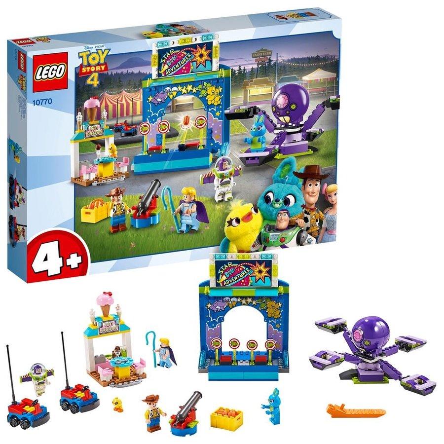 LEGO® Disney Pixar Toy Story 4 Kermismania van Buzz en Woody 10770