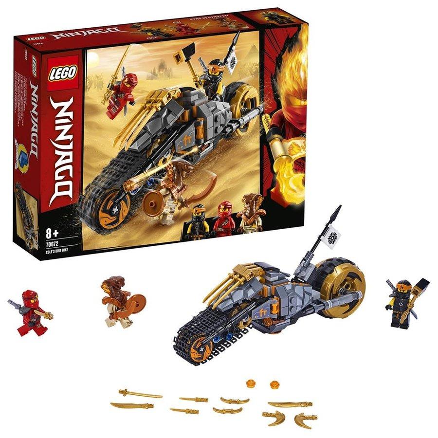 LEGO® NINJAGO ™ Cole's Crossmotor 70671