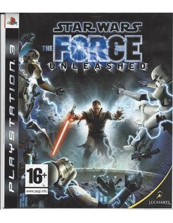 STAR WARS THE FORCE UNLEASHED voor Playstation 3 PS3