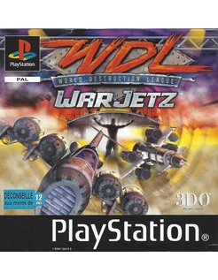WORLD DESTRUCTION LEAGUE WDL WARJETZ für Playstation 1 PS1