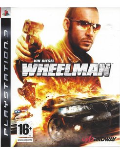 VIN DIESEL WHEELMAN voor Playstation 3 PS3