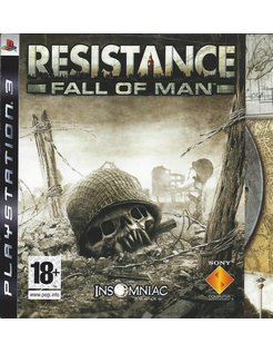 RESISTANCE FALL OF MAN voor Playstation 3 PS3