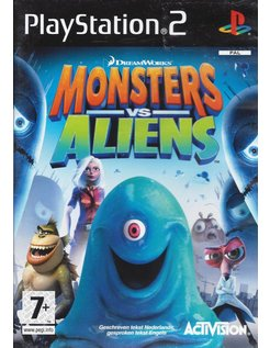 MONSTERS VS ALIENS voor Playstation 2