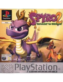 SPYRO 2 GATEWAY TO GLIMMER für Playstation 1