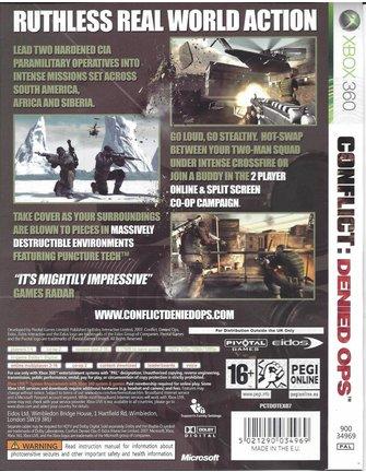 CONFLICT DENIED OPS voor Xbox 360