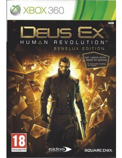 DEUS EX HUMAN REVOLUTION for Xbox 360