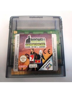 ROSWELL CONSPIRACIES - ALIENS MYTHS & LEGENDS für Nintendo Game Boy Color