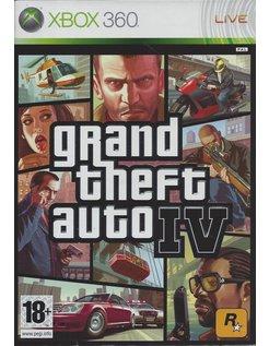 GRAND THEFT AUTO IV (4) voor Xbox 360