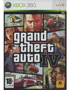 GRAND THEFT AUTO IV (4) for Xbox 360