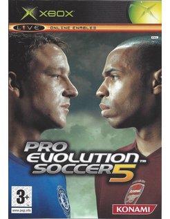 PRO EVOLUTION SOCCER 5 für Xbox