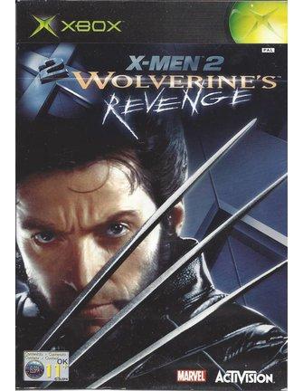 X-MEN 2 WOLVERINE'S REVENGE for Xbox