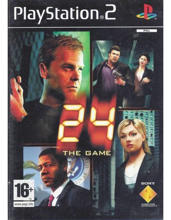 24 THE GAME voor Playstation 2 PS2