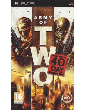 ARMY OF TWO THE 40TH DAY voor PSP