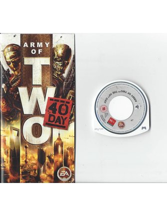 ARMY OF TWO THE 40TH DAY für PSP