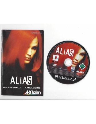 ALIAS voor Playstation 2 PS2