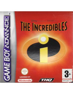 THE INCREDIBLES voor Game Boy Advance GBA