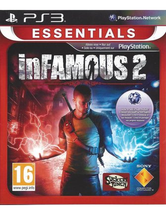 INFAMOUS 2 voor Playstation 3 PS3