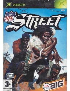 NFL STREET voor Xbox - compleet