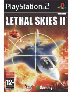 LETHAL SKIES II (2) voor Playstation 2 PS2