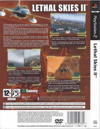 LETHAL SKIES II (2) voor Playstation 2 PS2