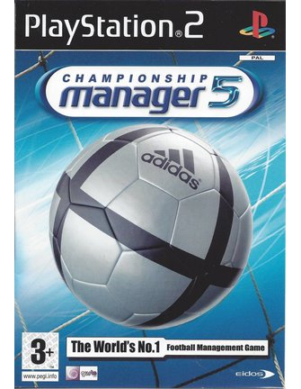CHAMPIONSHIP MANAGER 5 voor Playstation 2 PS2