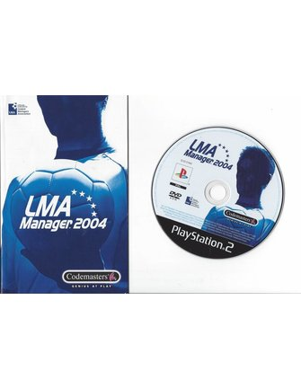 LMA MANAGER 2004 für Playstation 2 PS2