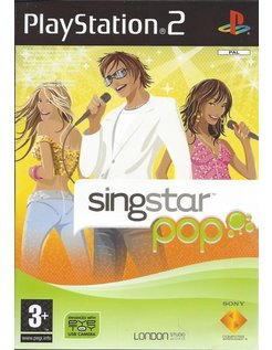 SINGSTAR POP voor Playstation 2 PS2