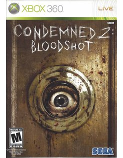 CONDEMNED 2 BLOODSHOT for Xbox 360