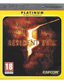 RESIDENT EVIL 5 PLATINUM voor Playstation 3 PS3