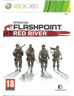 OPERATION FLASHPOINT RED RIVER voor Xbox 360