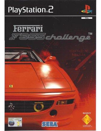 FERRARI F355 CHALLENGE voor Playstation 2 PS2 - Nederlandstalige handleiding