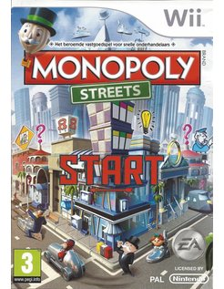 MONOPOLY STREETS for Nintendo Wii
