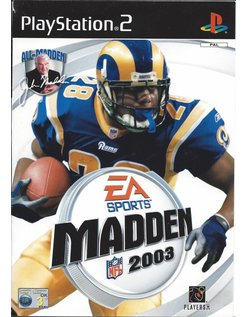 MADDEN NFL 2003 voor Playstation 2 PS2