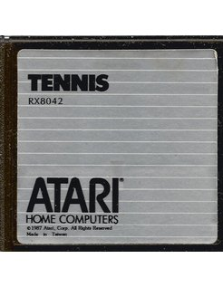 TENNIS gamecartridge voor Atari XE/XL