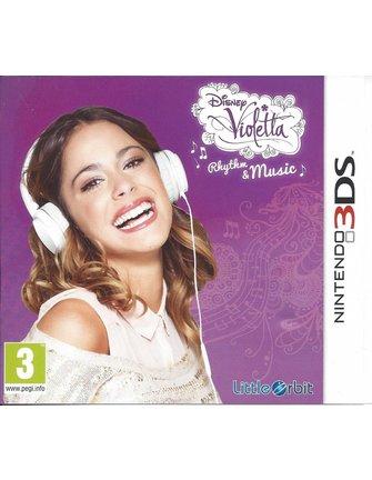 DISNEY VIOLETTA RHYTHM AND MUSIC voor Nintendo 3DS