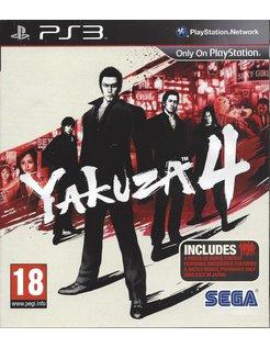 YAKUZA 4 voor Playstation 3 PS3