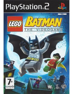 LEGO BATMAN THE VIDEO GAME voor Playstation 2 PS2
