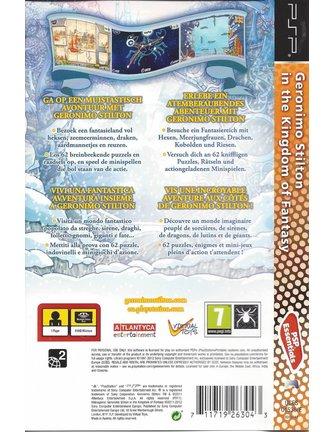 GERONIMO STILTON IN THE KINGDOM OF FANTASY voor PSP - Essentials
