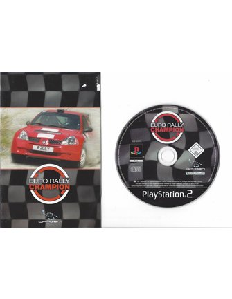 EURO RALLY CHAMPION voor Playstation 2 PS2
