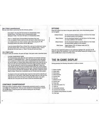 LEADERBOARD GOLF voor Playstation 2 PS2