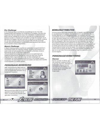 AMF XTREME BOWLING 2006 für Playstation 2 PS2