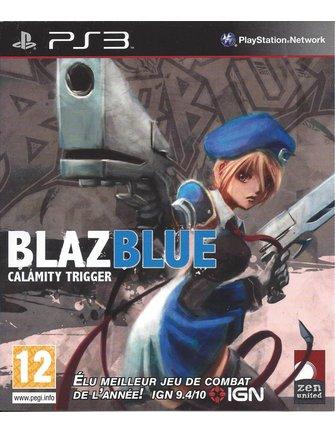 BLAZBLUE CALAMITY TRIGGER voor Playstation 3 PS3